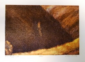 Ørn (II)/15x10cm/kr. 700,-