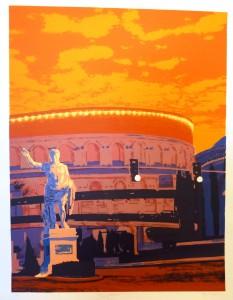 Augustus/67,5x87,5cm/1ex!/Kr. 10.000,-