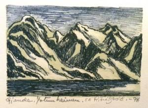 Gjende, Jotunheimen/15x10cm/Kr. 1.000,-