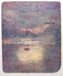 Reise/litografi/1ex!/41x49,5cm/Kr. 3.600,-