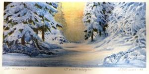 I vinterskogen