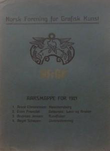 Mappe 1921