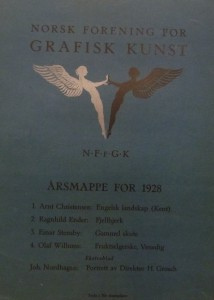 Mappe 1928