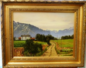 Fra Lofoten/olje/63x51cm/kr. 12.000,-